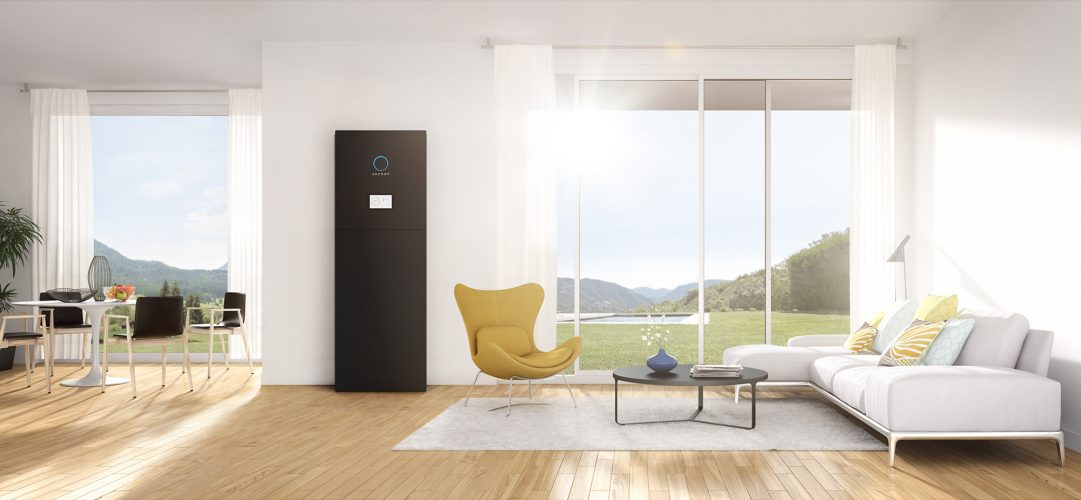 Modern interior. Render image.